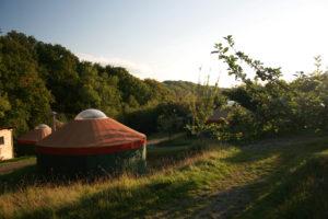 Embercombe Yurts