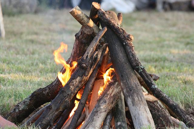 Retreat fire