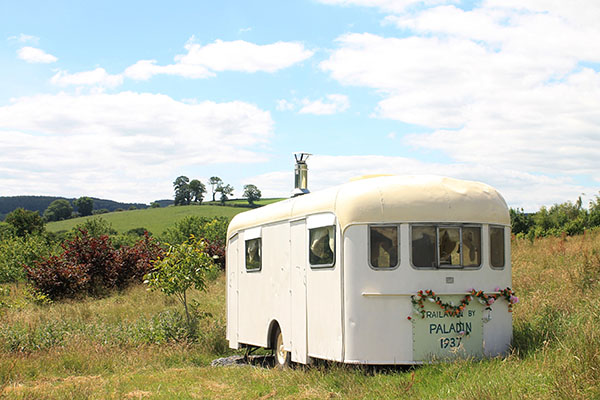 Embercombe's vintage van for hire